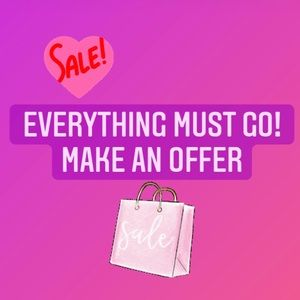 Everything on Sale!!!🛍